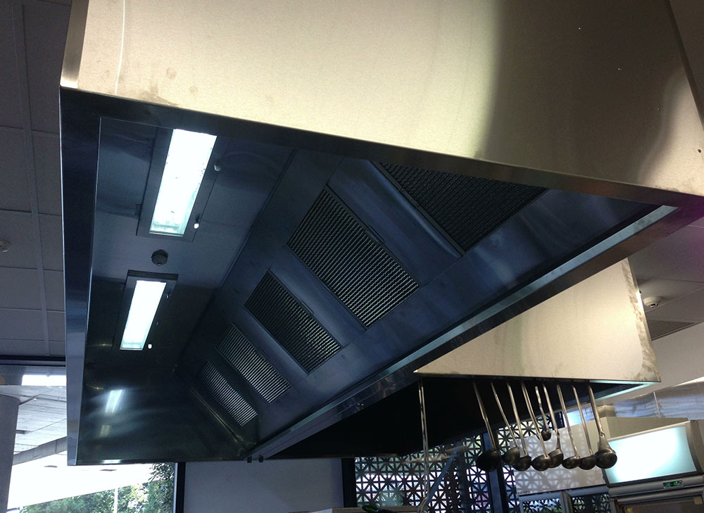 Commercial Kitchen Canopy Lighting